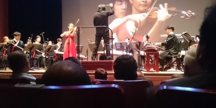 Jikji violinist